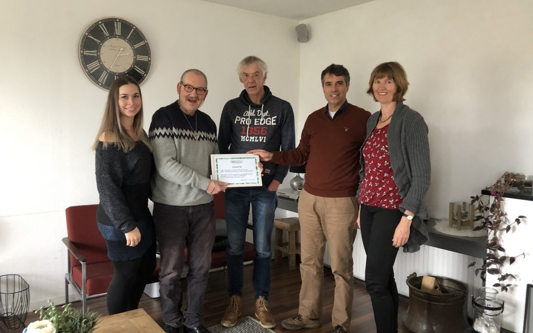 WatBeters Heteren, Driel & Randwijk doneert aan Woonvorm de Passie